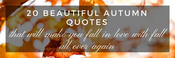 autumn quotes