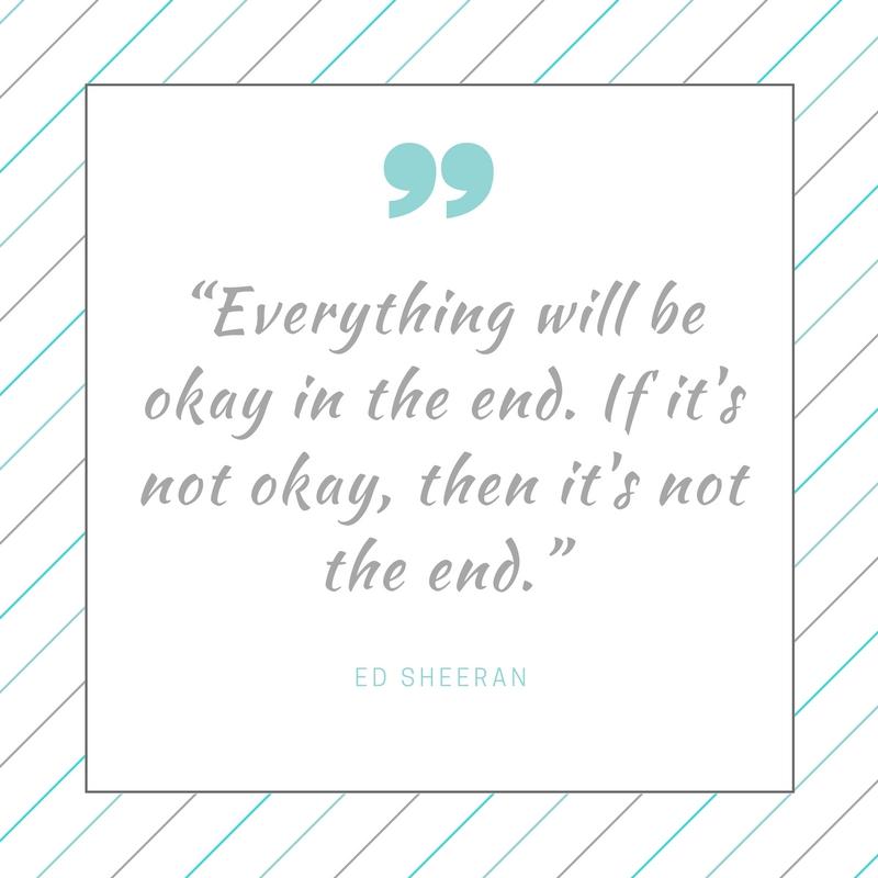 ed sheeran quotes