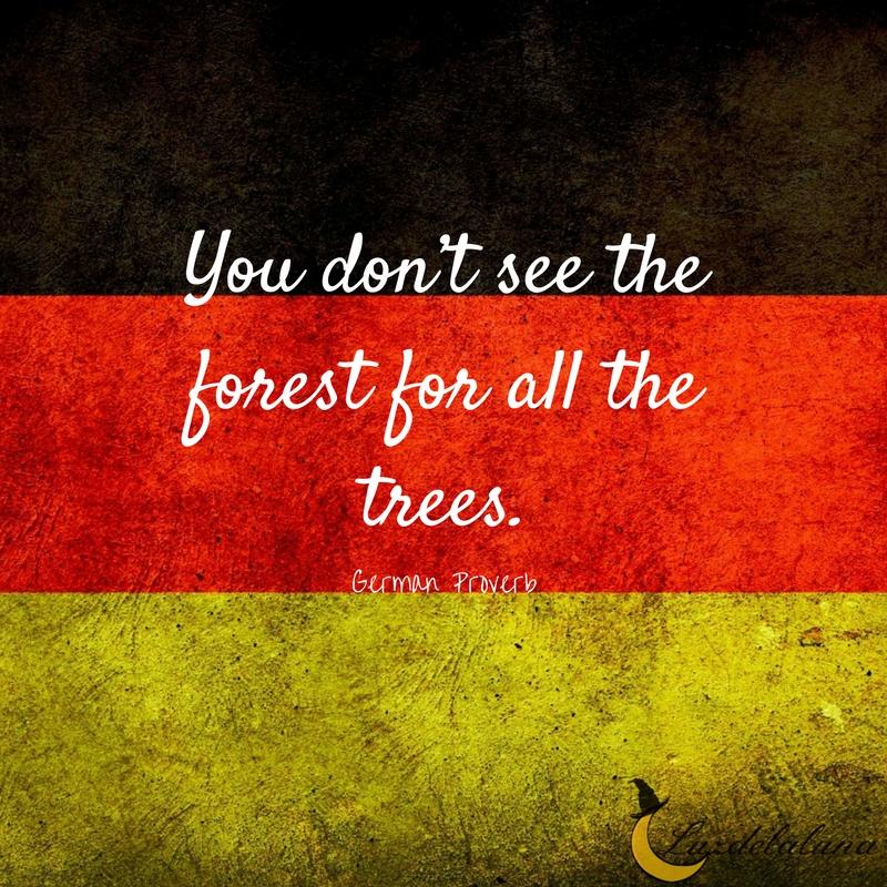 German proverb