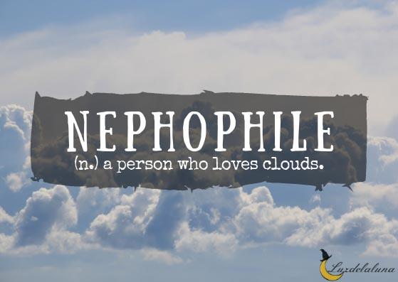 Nephophile