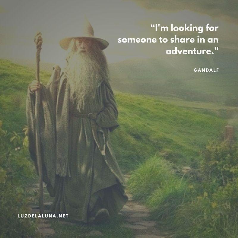 gandalf quotes on adventure